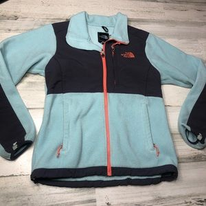The North Face jacket blue size small
